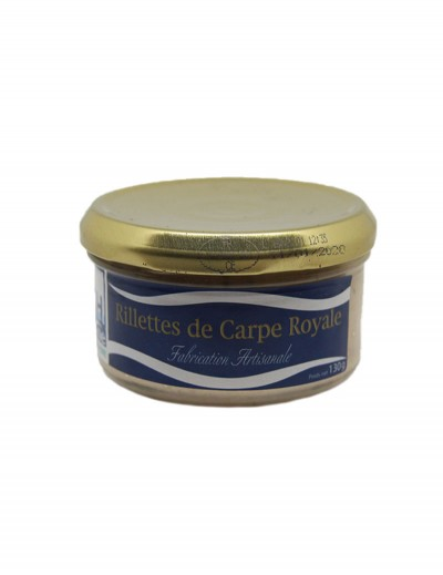Rillettes de Carpe Royale 130g